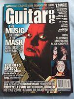 Guitar One Magazine 2002 Kiss Mudvayne Slipknot Vito Bratta Tool SRV Zakk Trower