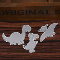 Dinosaur Metal Cutting Dies Stencil DIY Scrapbooking Embossing Album Paper Craft