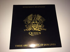 QUEEN - BOHEMIAN RHAPSODY / THESE ARE THE DAYS LIM. 7'' VINYL  NEWS OF THE WORLD
