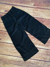 Vintage Votre Nom couture CULOTTES Pants High Waist Pleated Fitted Flare ~ 6 8
