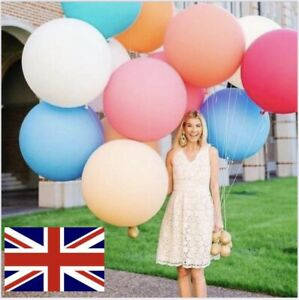 """36"""" INCH (35gsm STRONG) GIANT LARGE LATEX BALLOON Wedding Party Decoration  etc"""