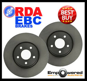 RDA FRONT DISC BRAKE ROTORS for Proton Jumbuck 1.5L Ute GLI GLSI 2/2003-4/2013