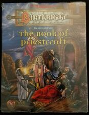 TSR AD&D Dungeons & Dragons Birthright RPG Book - The Book of Priestcraft - NEW