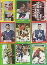 1973-74 TOPPS lot of 17 DIFFERENTS CARDS  near mint  LOT 114