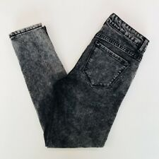 Forever 21 Womens Black and Gray Wash Jeans Size 26