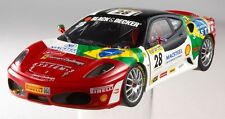 HOT WHEELS ELITE 1:18 FERRARI F430 CHALLENGE BRUNO SENNA ARTE N2068