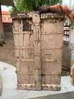 Vintage Old Hand Forged Collectible Indian Wooden Furniture Wall Window Door