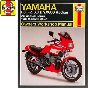 Yamaha Fj Motorcycle Repair Manuals Literature For Sale Ebay