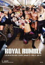 WWE 2008 ROYAL RUMBLE PPV POSTER FREE SHIPPING! ROLLED NEVER FOLDED WWF WCW ECW