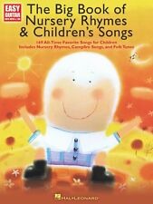 The Big Book of Nursery Rhymes & Children's Songs Sheet Music Easy Gui 000703055