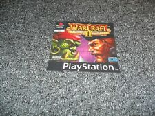 NEW REPLACEMENT SONY PS1 PLAYSTATION 1 GAME BOX FRONT COVER - WARCRAFT II 2