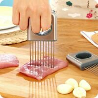 Vegetable Onion Holder Slicer Tools Tomato Cutter Stainless Steel Kitchen Gadget