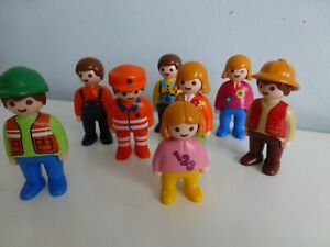 Playmobil 123 People Bundle ~ 8 Figures