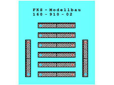 FKS 160-910-02 - Schmutzlappen Set 2 - Spur N - NEU