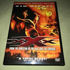 Xxx Dvd Widescreen Special Edition Vin Diesel Asia Argento Action Movie