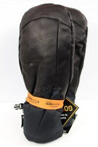 686 Men's GoreTex Leather Theorem Snowboard Mitts XL Extra Large, Black New 2020