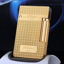 2018 NEW S.T Memorial lighter Bright Sound gold color lighter ! free shipping