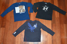 Lot de 3 Tshirt ML garçon ZARA Jean Bourget Scott & Fox 6 ans BE