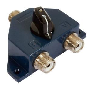2 WAY SO239 SWITCH CS 201 COAX CB ANTENNA 1000w 0-1000 MHz 0.1dB