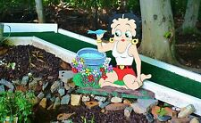 lawn stake art Betty Boop yard garden stake or plaque decore yard decorations
