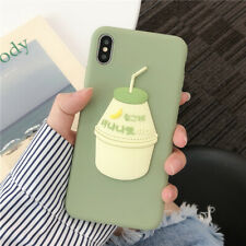 Banana Milk Popular Cute Creative Silicone New Hot Case Cover For Various Phones