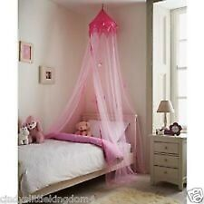 New Princess Style Childrens Pink Canopy Bedroom Hanging Bed