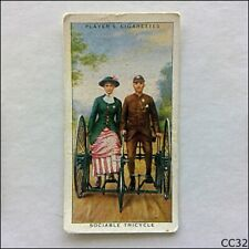 John Player Cycling #10 Sociable Tricycle 1939 Cigarette Card (CC32)