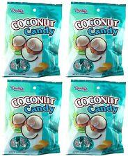 4 BAGS Dandy's Dandys Coconut Hard Candy 3.52 Oz ~21 pcs