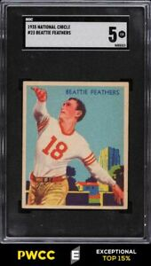1935 National Chicle Football Beattie Feathers #23 SGC 5 EX (PWCC-E)