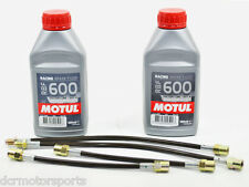 Kit flexibles de freins Goodridge Honda Civic Type R EP3 01-05 + 2 Motul RBF 600