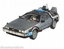 HOT WHEELS ELITE HERITAGE BACK TO THE FUTURE  TIME MACHINE 1/18 Diecast CMC98