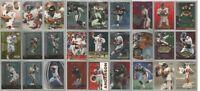 Atlanta Falcons 27 card 1998 insert lot-all different