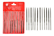 Needle File Set PMC Art Clay Silver Tools 12 Fine Metal 4 inch SE Tools 7382NF