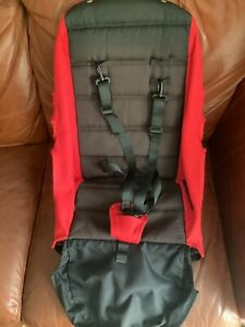 Baby Jogger City Select Seat Fabric Ruby Red / Black With Harness