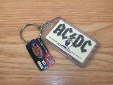 Rock Shop AC/DC 2006 Collectible Novelty Key Chain With Tag **READ**