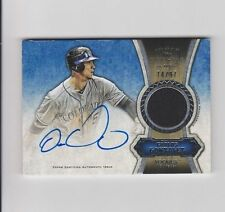 2012 Topps Five Star CARLOS GONZALEZ On Card Auto Autograph Jersey Relic #74/97