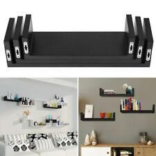 Set of 3 Floating Display Home Shelves Ledge Bookshelf Wall Mount Storage