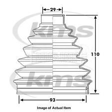 New Genuine BORG & BECK Driveshaft CV Boot Bellow Boot BCB6227 Top Quality 2yrs