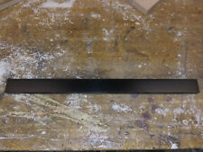 corian black fret board 1 1/2 x 18 x 1/4 inch thick guitar nack replace repair