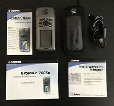 GARMIN GPSMAP®  76CSx GPS HANDHELD 128 microSD™ card USED Excellent Condition