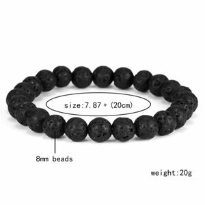 Natural Stone Beads Bracelet Men Women Handmade Stone Turquoise Jewelry Gifts