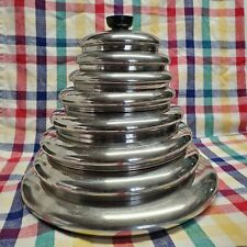 Revere Ware Vintage Replacement Lids Stainless Steel 5