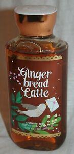 Bath & Body Works Gingerbread Latte Shower Gel Brown Sugar Pear 10 fl oz NEW