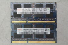 Hynix 8GB (2x4GB) PC3-12800 DDR3-1600 SODIMM Laptop Memory RAM HMT351S6EFR8A-PB