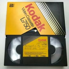 Kodak Video Cassette Beta L-750  Recorded Movies The Wizard of Oz Video Cassette