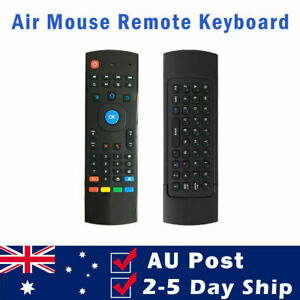 MX3 Air Mouse 2.4GHz Wireless Keyboard For Google Android Mini PC TV Box Remote
