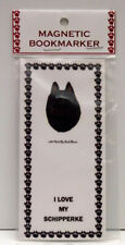 "Schipperke Dog Magnetic Bookmark,""I Love My Schipperke"