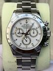 Rolex Daytona White 116520 Complete Set Box Papers Mint!!! Stainless Chronograph