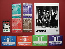 Extreme,promo photo,9 Backstage passes,Rare Originals