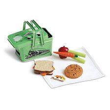 💕 Kit De Muñeca American Girl's School Lunchbox beforever Nueva bandeja de entrada retirado Metal Lata